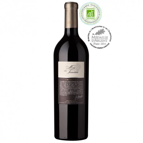 Languedoc réserve rouge 2015 bio - Mas des tannes