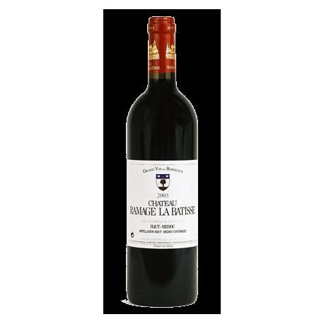 Bordeaux rouge Ramage la Bâtisse 2011