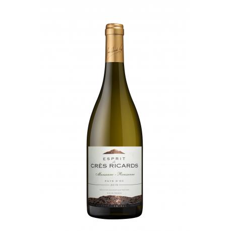 Languedoc blanc 2017 Marsanne Roussanne crès ricards