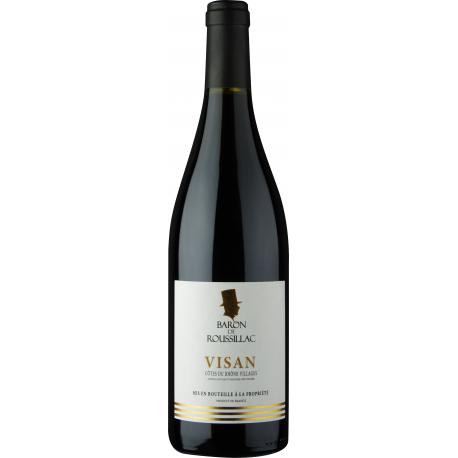 Côtes du Rhône Visan Baron de roussillac 2017