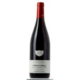 Bourgogne rouge Mercurey 2017 domaine Buissonnier