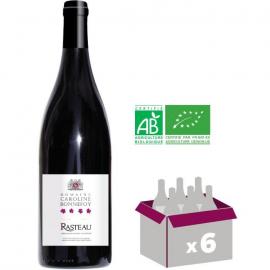 Côtes du Rhône rouge Rasteau  Caroline de Bonnefoy 2016