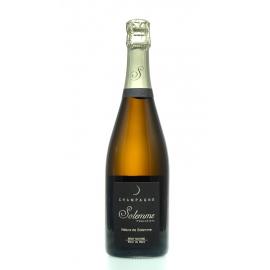 champagne nature de Solemme blanc de blanc BIO 2013