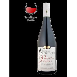 Côtes du Rhône vielles vignes Benedetti 2017 bio