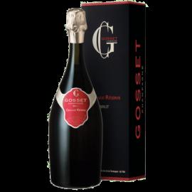 champagne GOSSET grande réserve brut avec étui