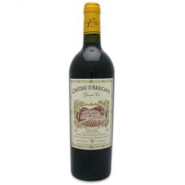 Château d'Arricaud Bordeaux rouge grand vin 2010